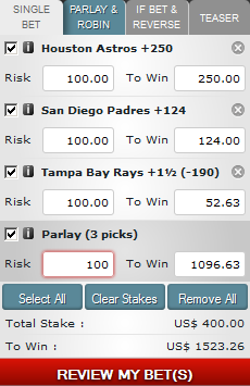 The Parlay Bet